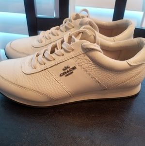 Off-white COACH sneakers 10 excellent barely worn